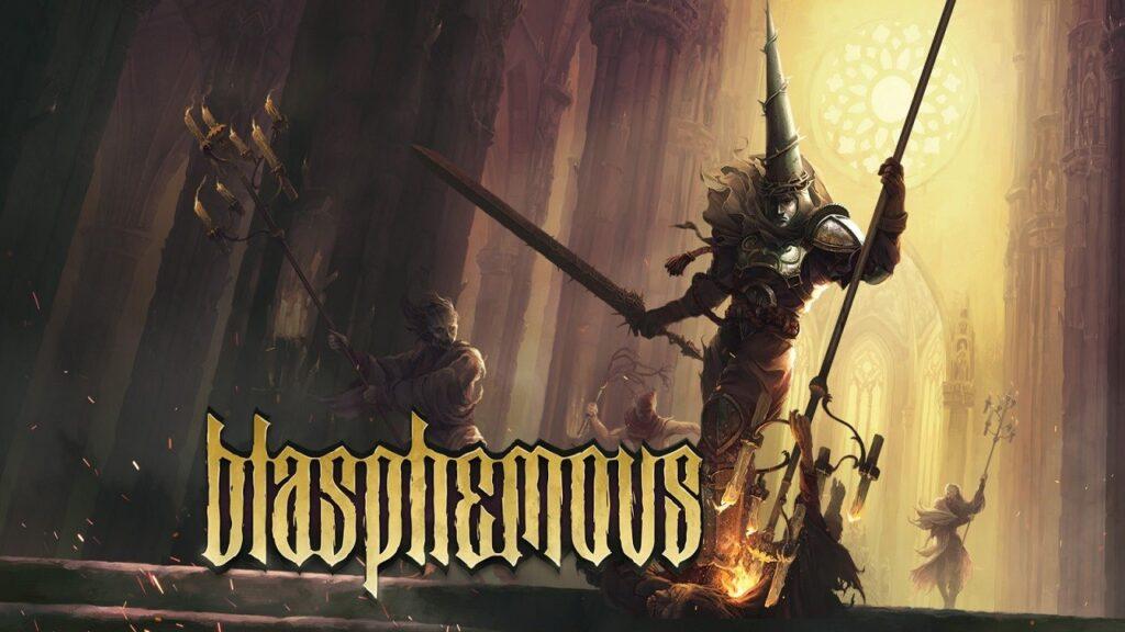 Blasphemous Cover Art