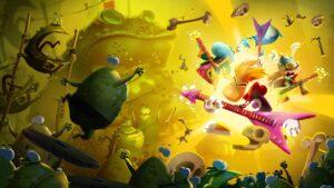 Rayman Artwork