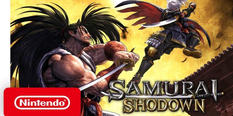Samurai Shodown cover art switch