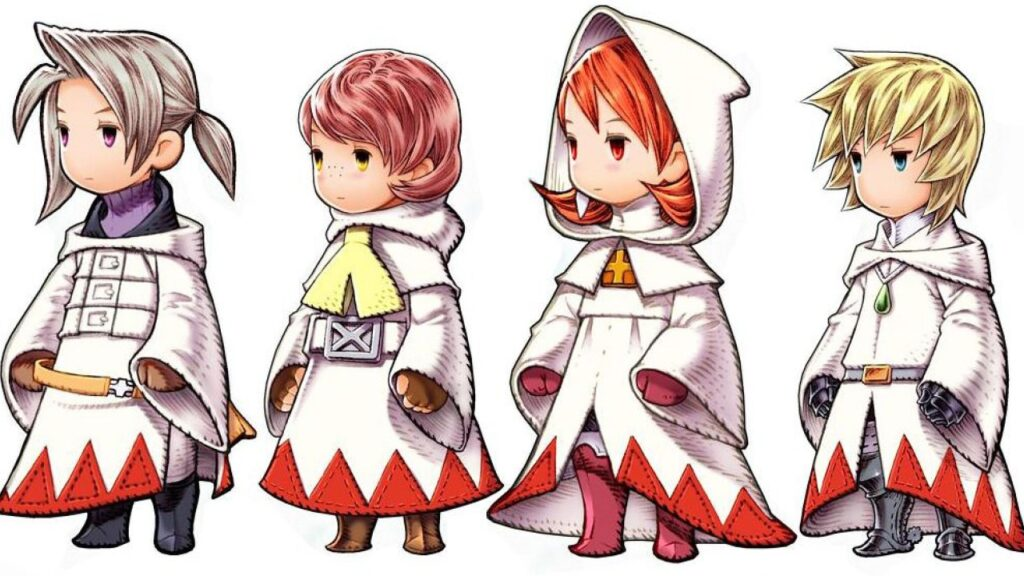 Final Fantasy III White Mage
