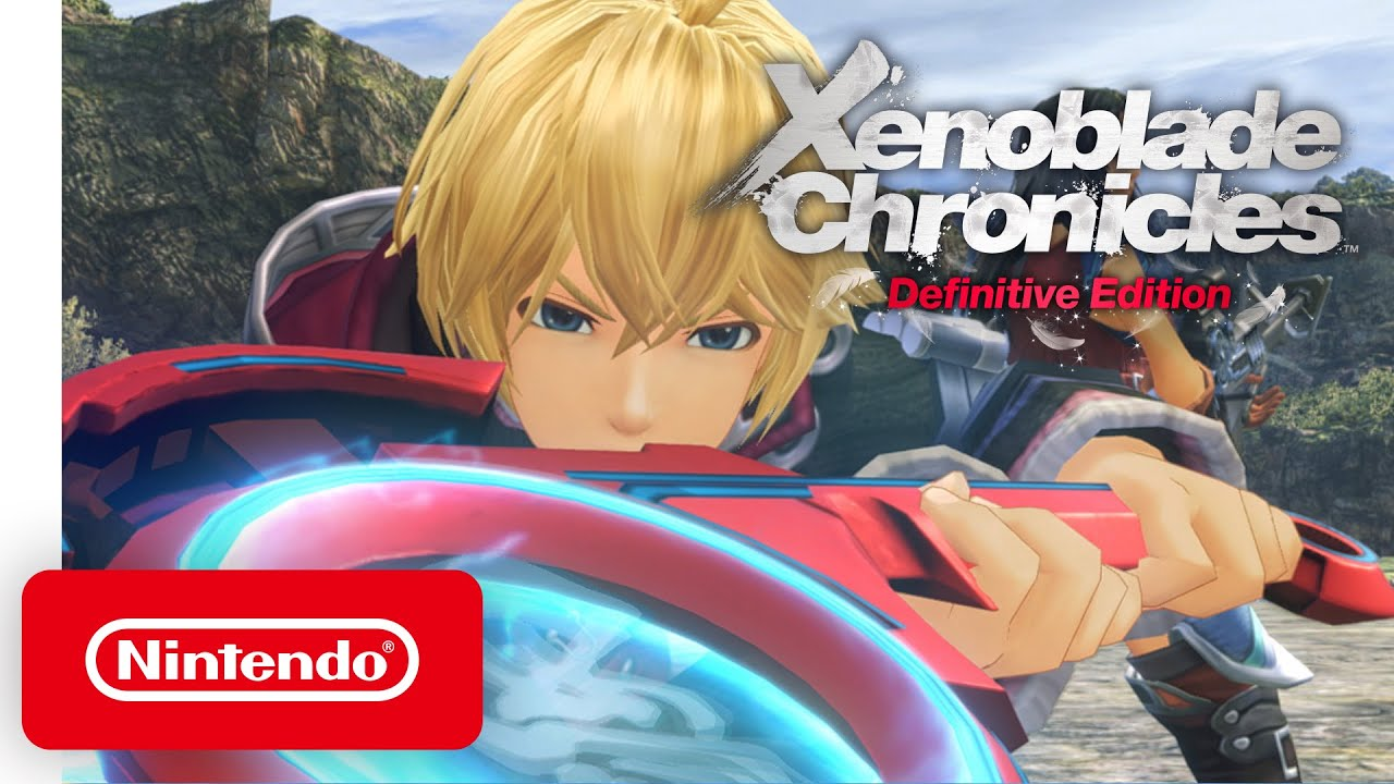 Xenoblade Chronicles Definitive edition shulk