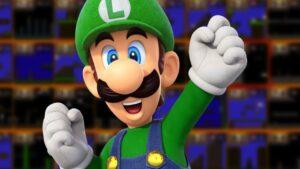 Luigi Super Mario Bros. 35