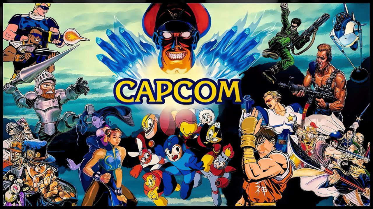 Capcom Header