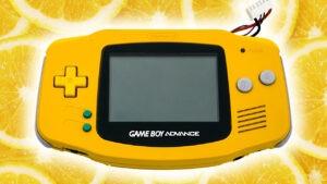 GBA giallo nintendon (5)