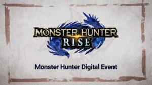 Monster Hunter Digital Event-nintendon