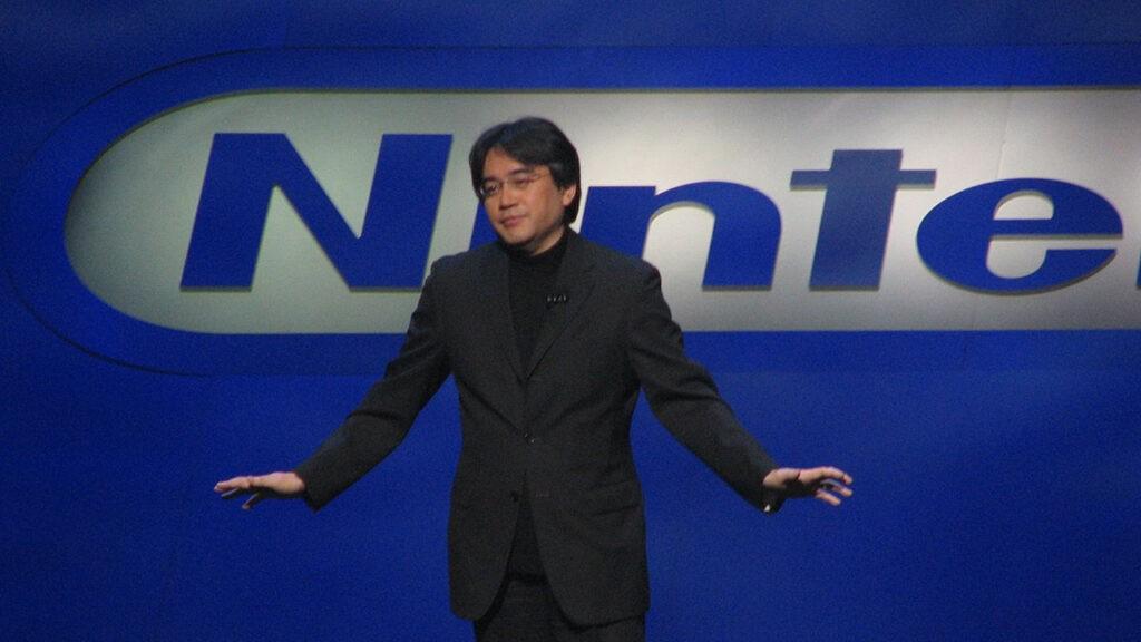 Iwata-e3-2006-nintendon