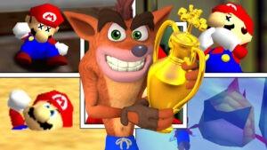 Mario-VS-Crash-NintendOn
