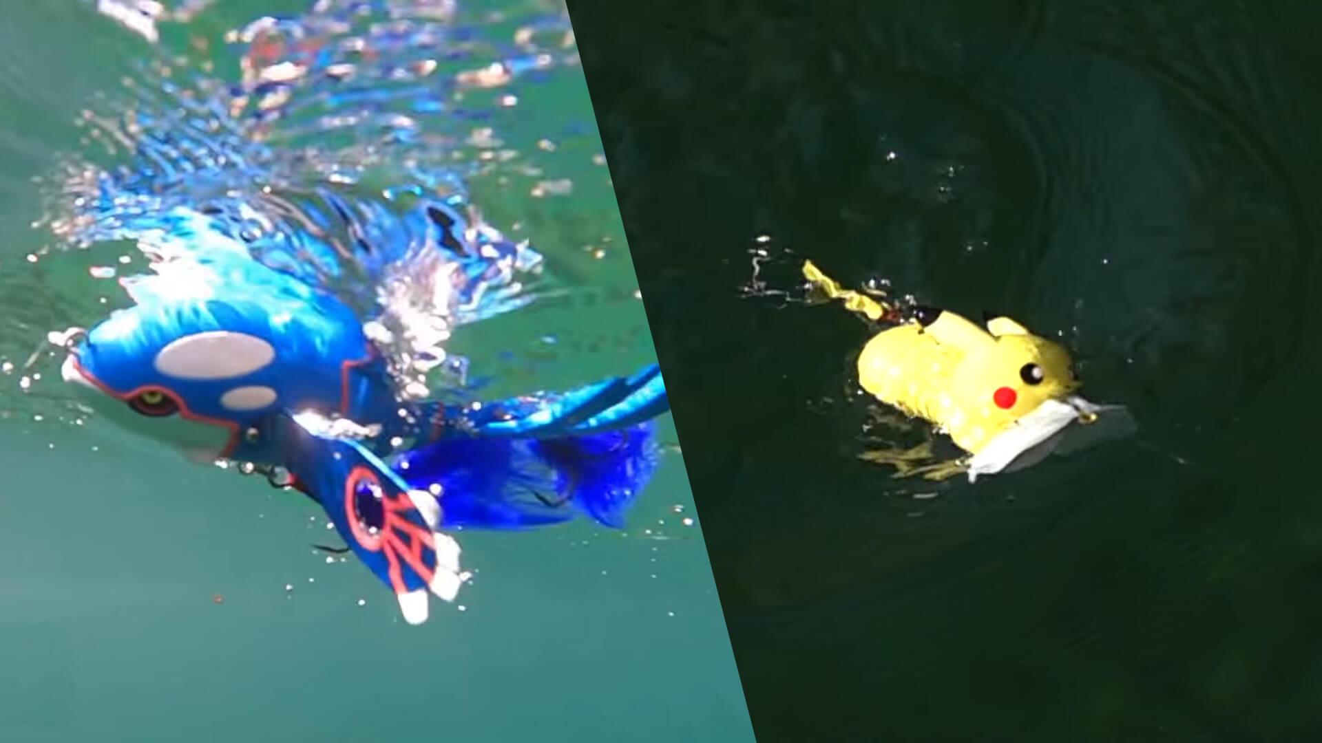 Pokémon Fishing NintendOn
