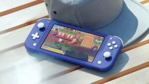 Nintendo Switch Lite Blu copertina NintendOn
