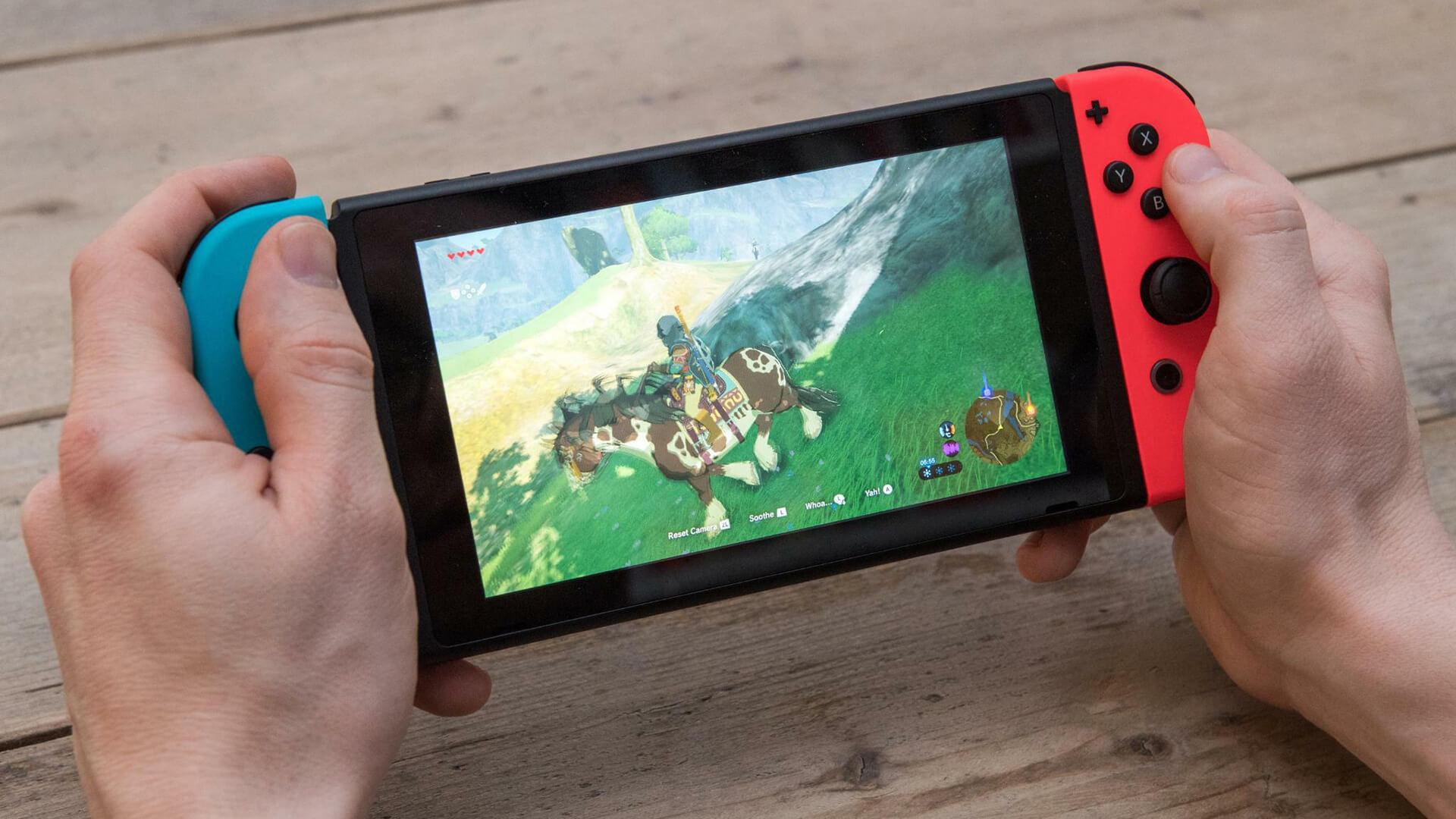 Nintendo Switch zelda NintendOn