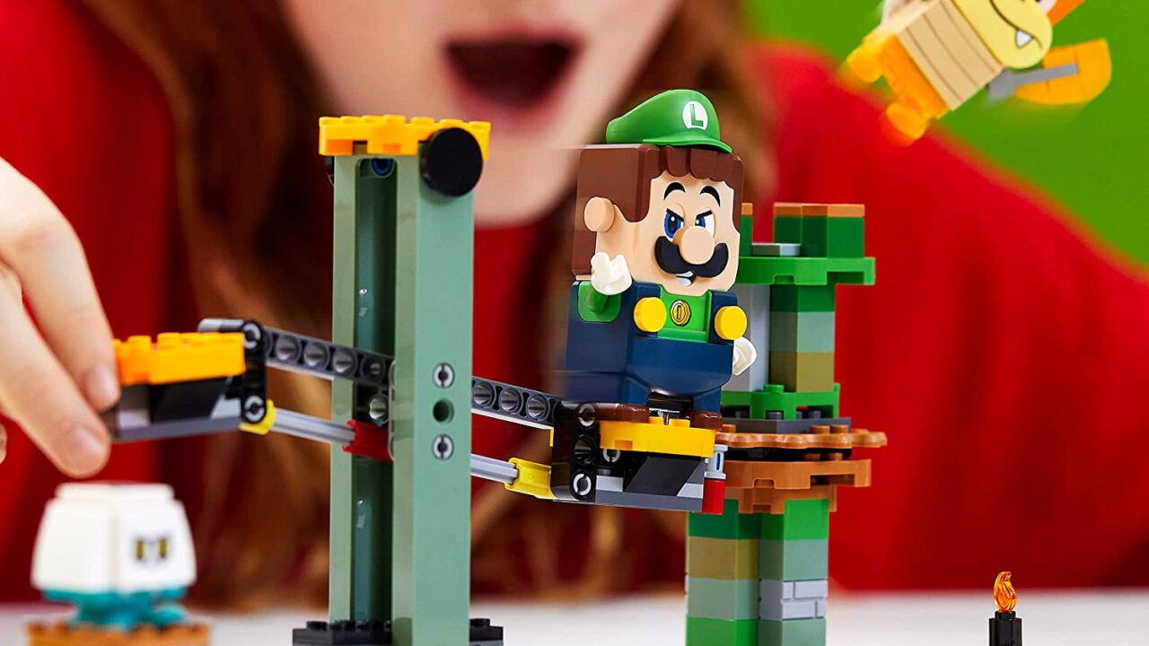 Lego Luigi Starter Course