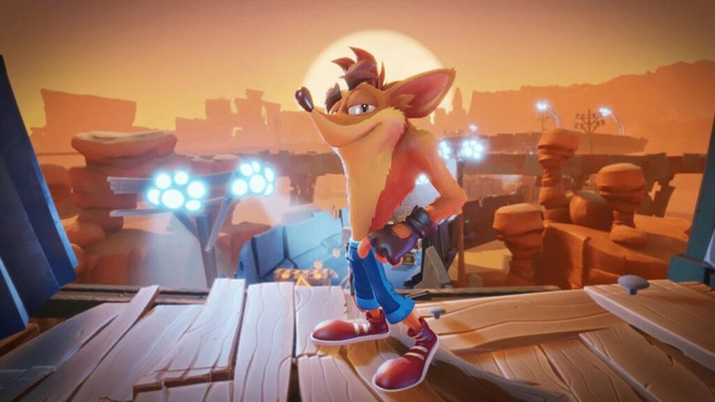 Crash Bandicoot Nintendon
