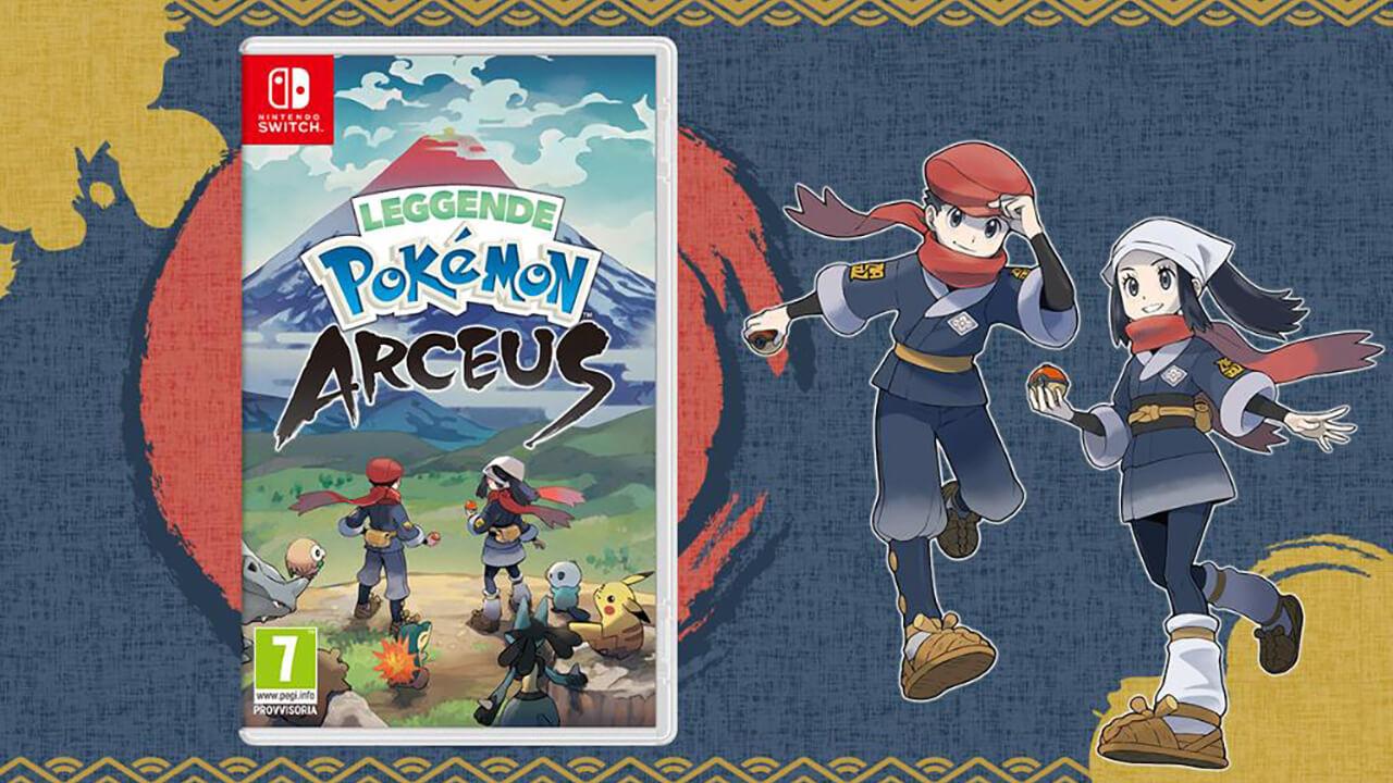 Ufficiale, Leggende Pokémon: Arceus arriva a gennaio del 2022, svelata la  cover - NintendOn
