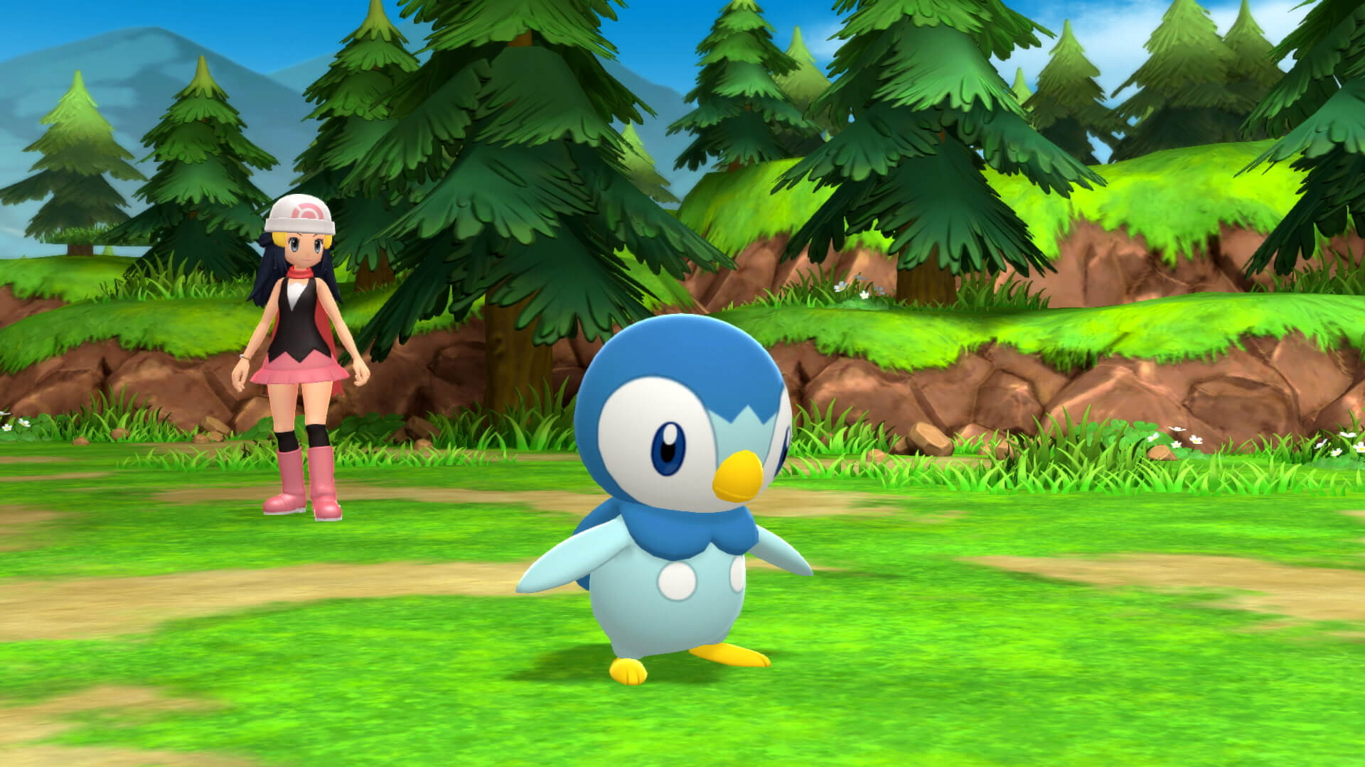 Pokémon Diamante Lucente e Perla Splendente Piplup NintendOn