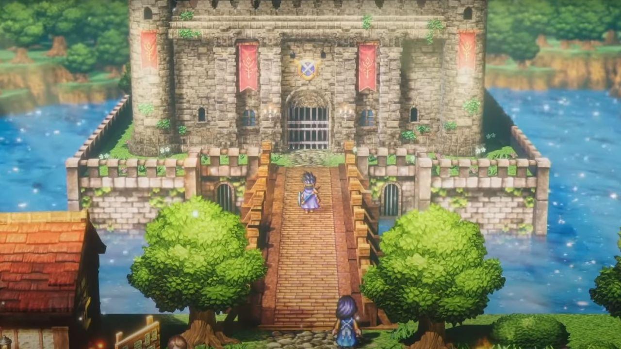 dragon quest III HD 2D