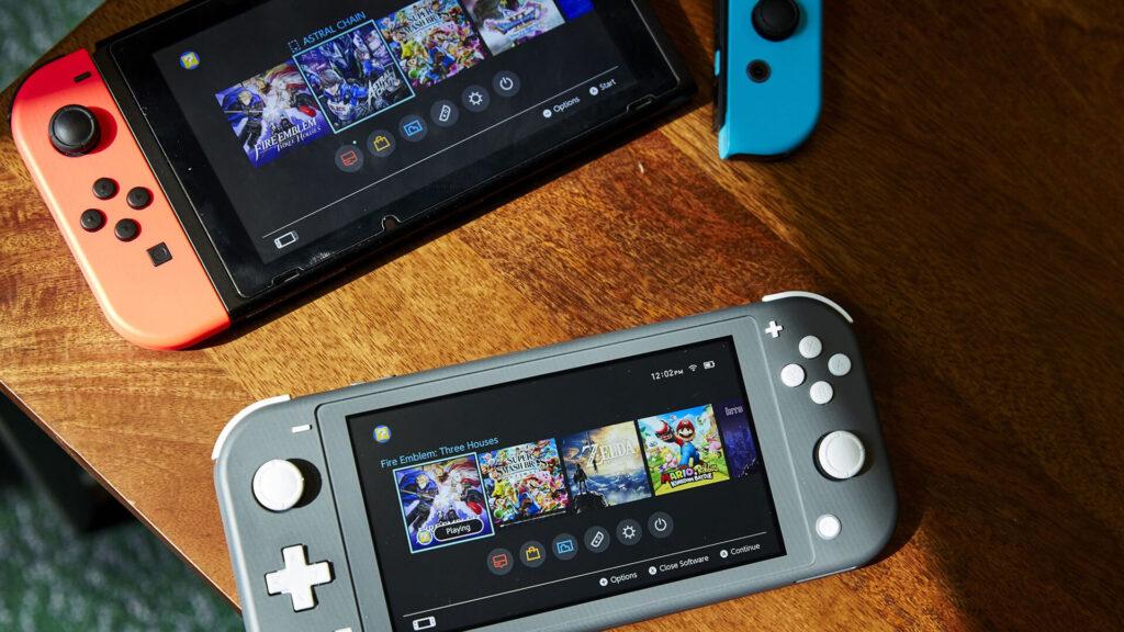Nintendo Switch base e Lite NintendOn