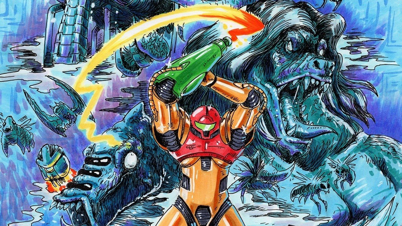 Metroid Guida Mano