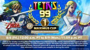 Tetris 99 Maximus Cup Skyward Sword