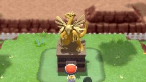 BDSP Evopoli statua NintendOn