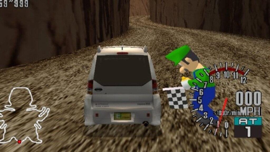 Luigi in sega Gt prototype