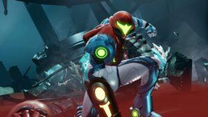 Metroid Dread Pose