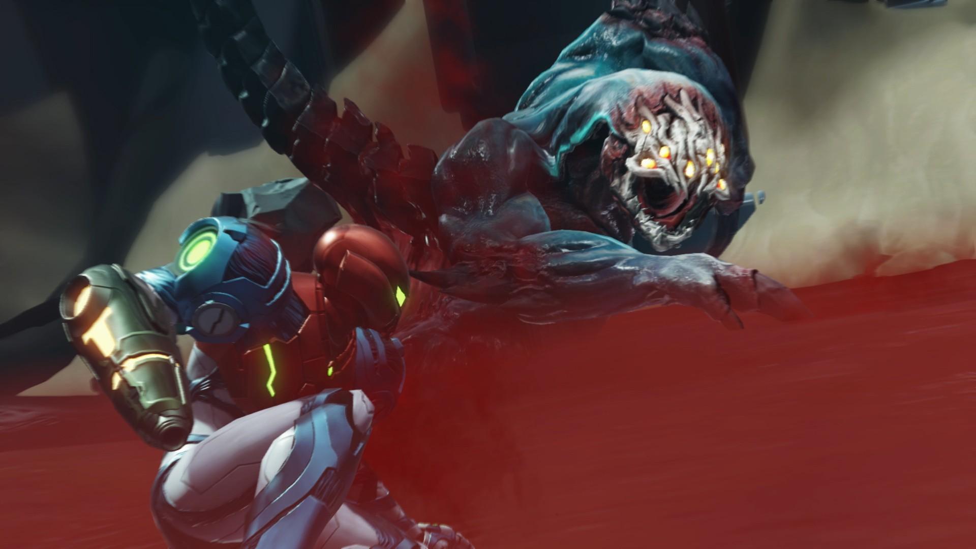 Metroid Dread Screen