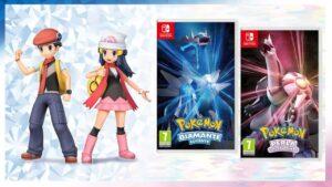 Pokémon diamante e perla splendete lucente